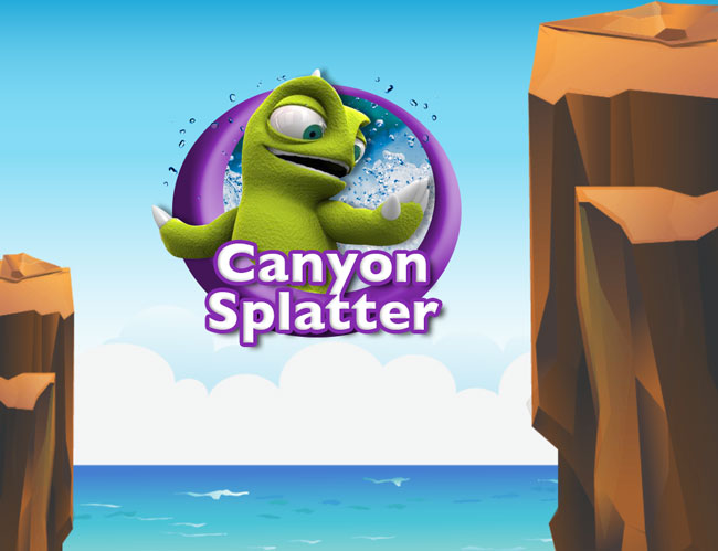 Canyon Splatter banner