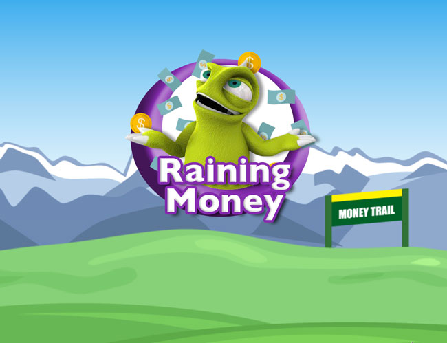 Raining Money banner